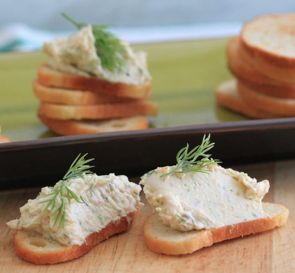 Smoked Salmon Dip with Chilli Oil