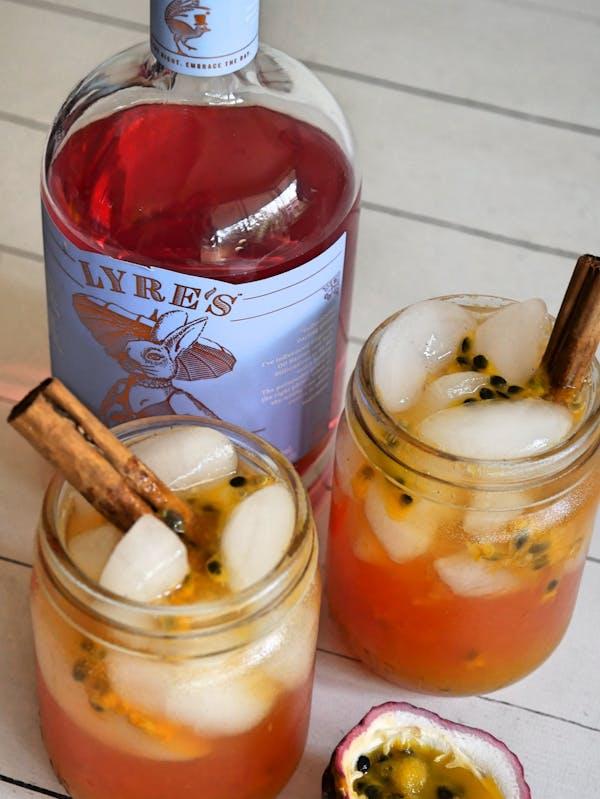 Spiced Passionfruit Spritz TENINA