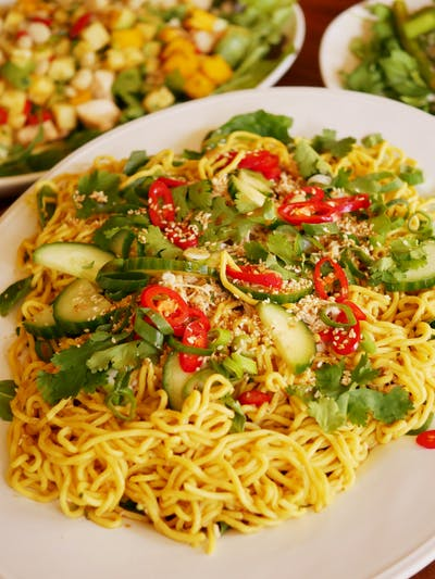 Spicy Noodle Chicken Salad