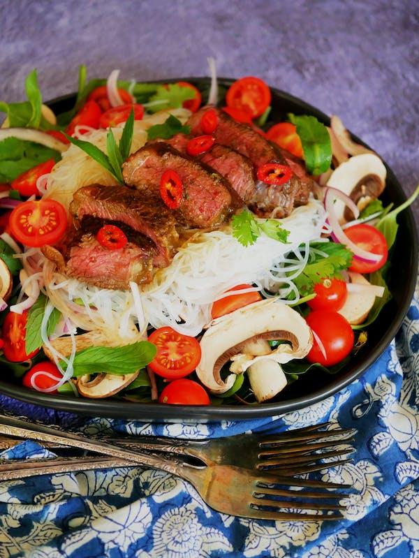Thai Beef Salad P Thermomix