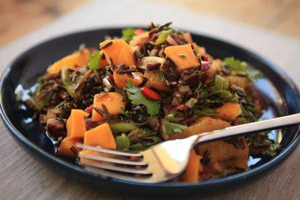 Thai Wild Rice Salad With Mango Img 3026 Copy