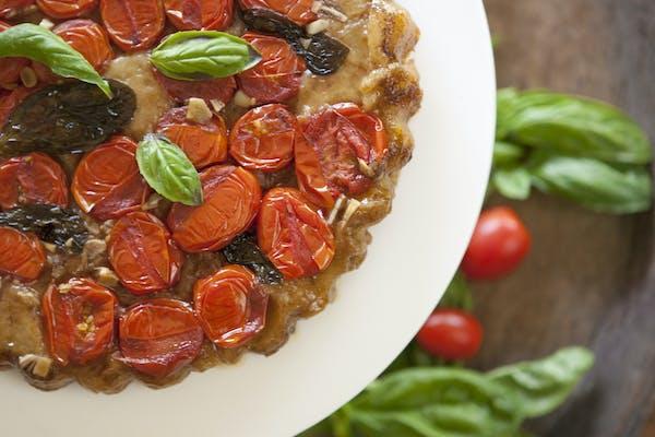 Tomato Tarte Tatin LS