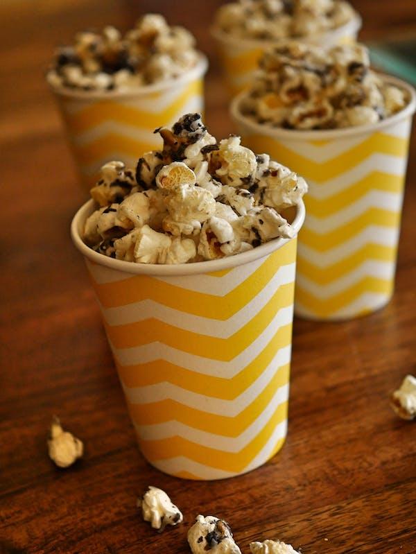 Truffle and Parmesan Popcorn P TENINA