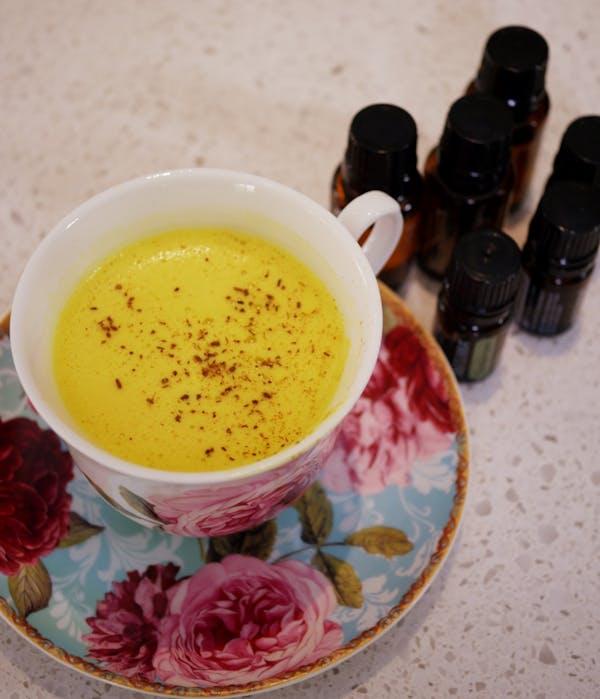Turmeric Chai Latte Fotor