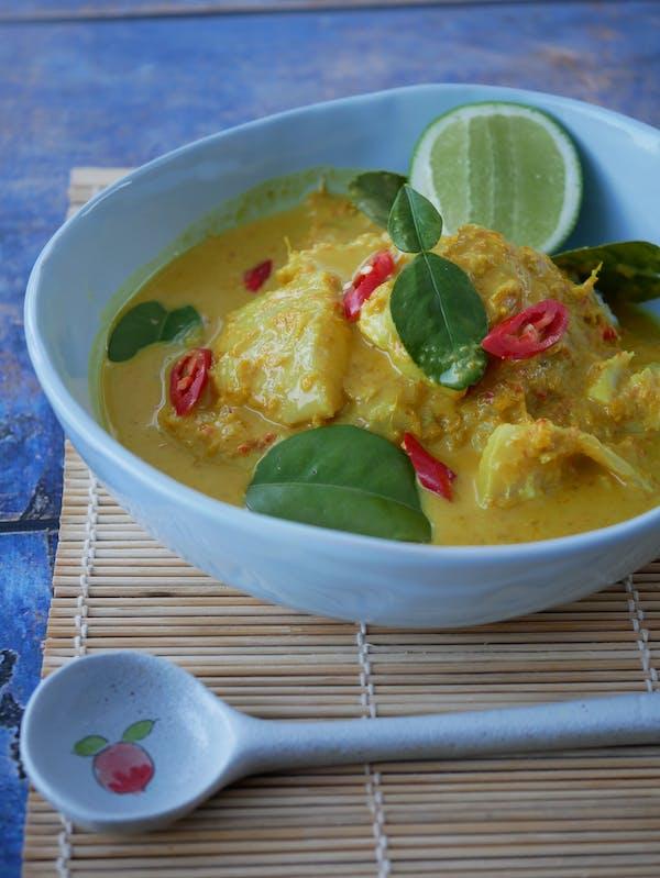 Turmeric Fish Curry P