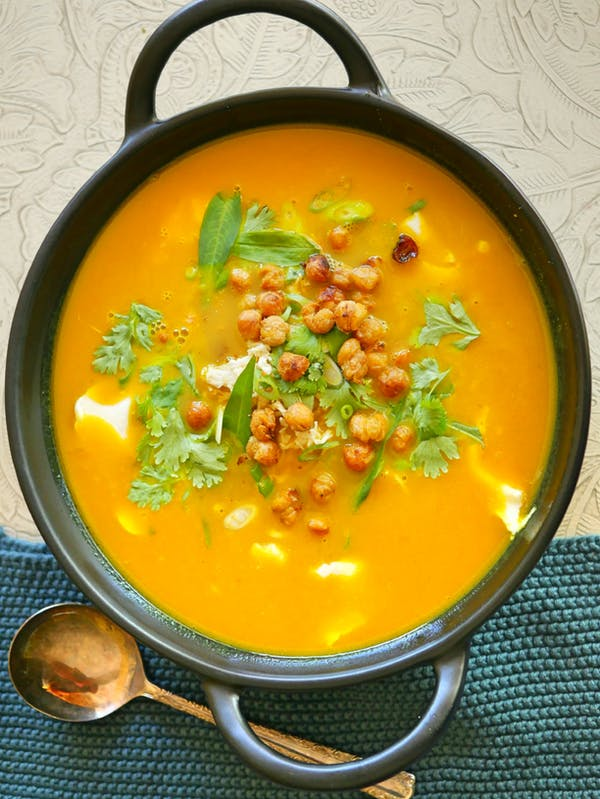 Turmeric and Coconut Chicken Soup P DROP