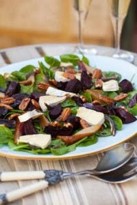 beetroot and pear salad