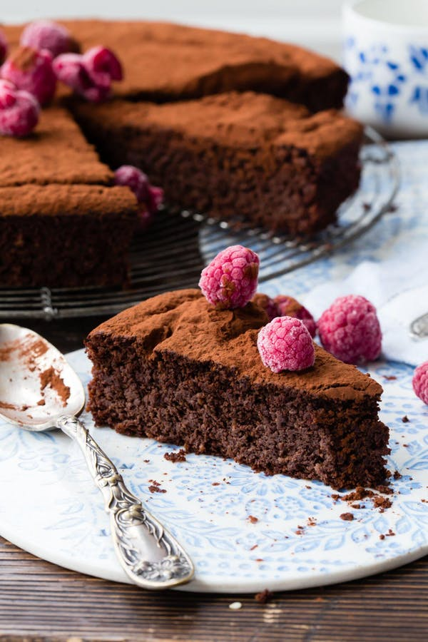 Flourless Chocolate Beetroot Cake